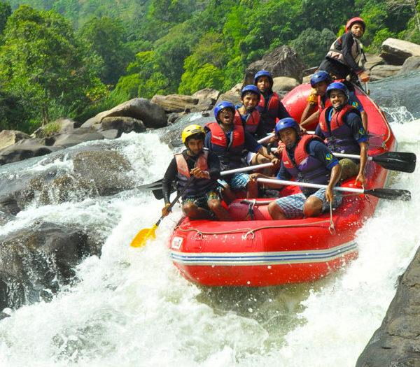 Kandy Day Tours - Water Rafting Kithulgala